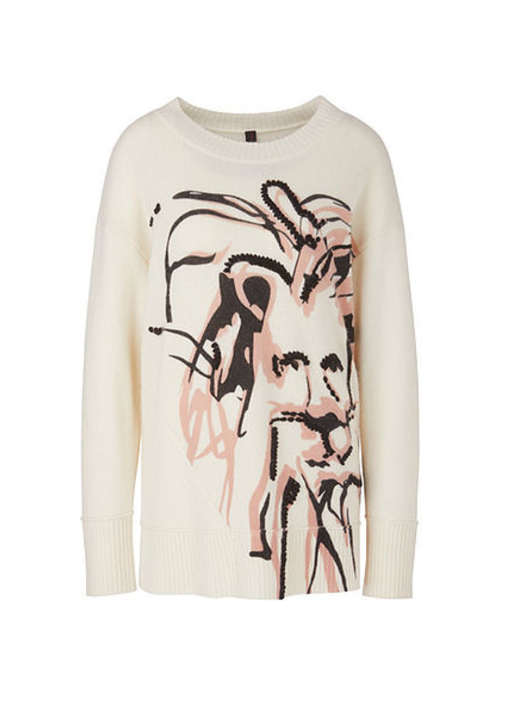 Sweater RC 41.10 M71 white and black