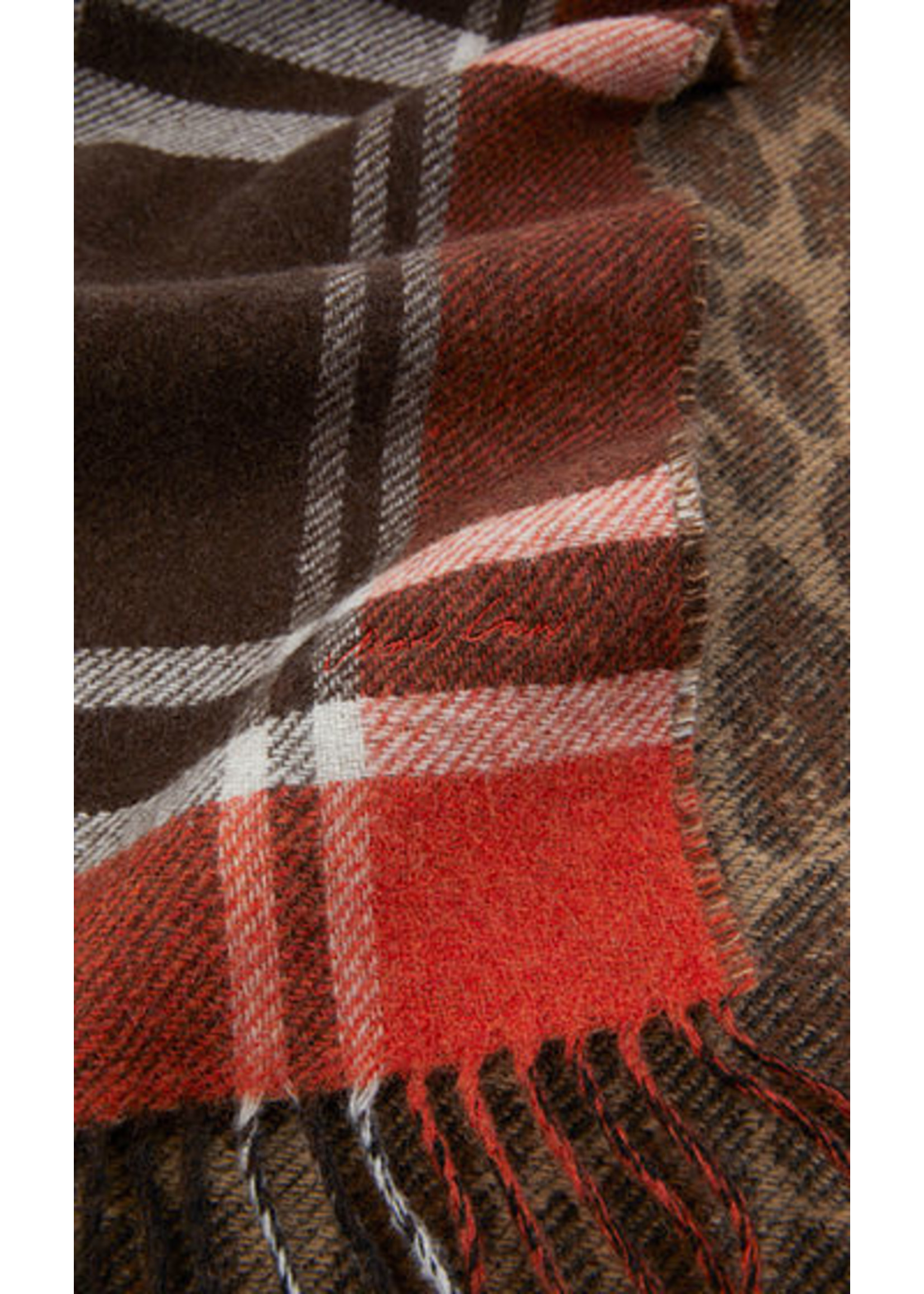 Sjaal RC B4.16 Z17 sienna