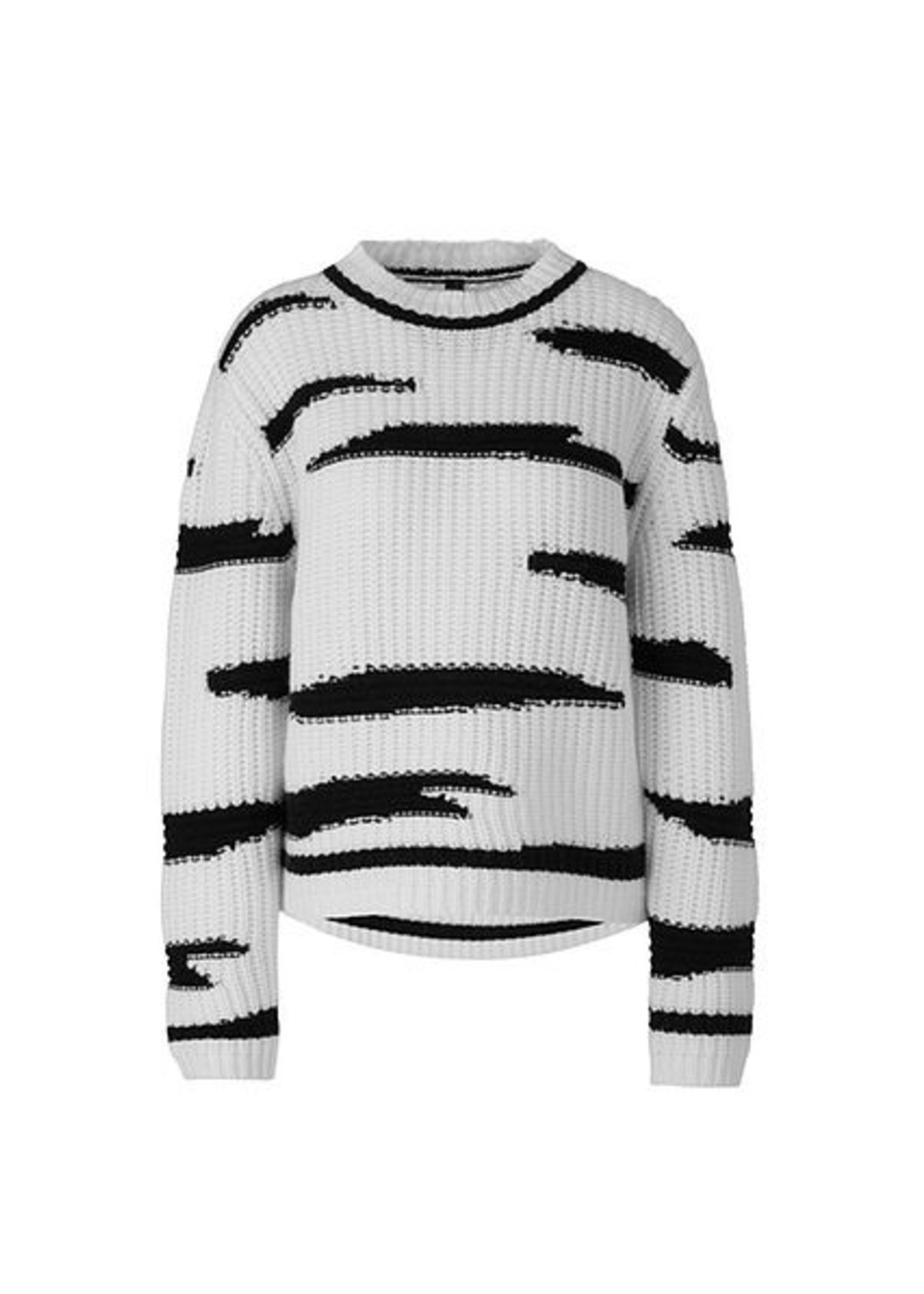 Marccain Sports Sweater RS 41.43 M84 white and black