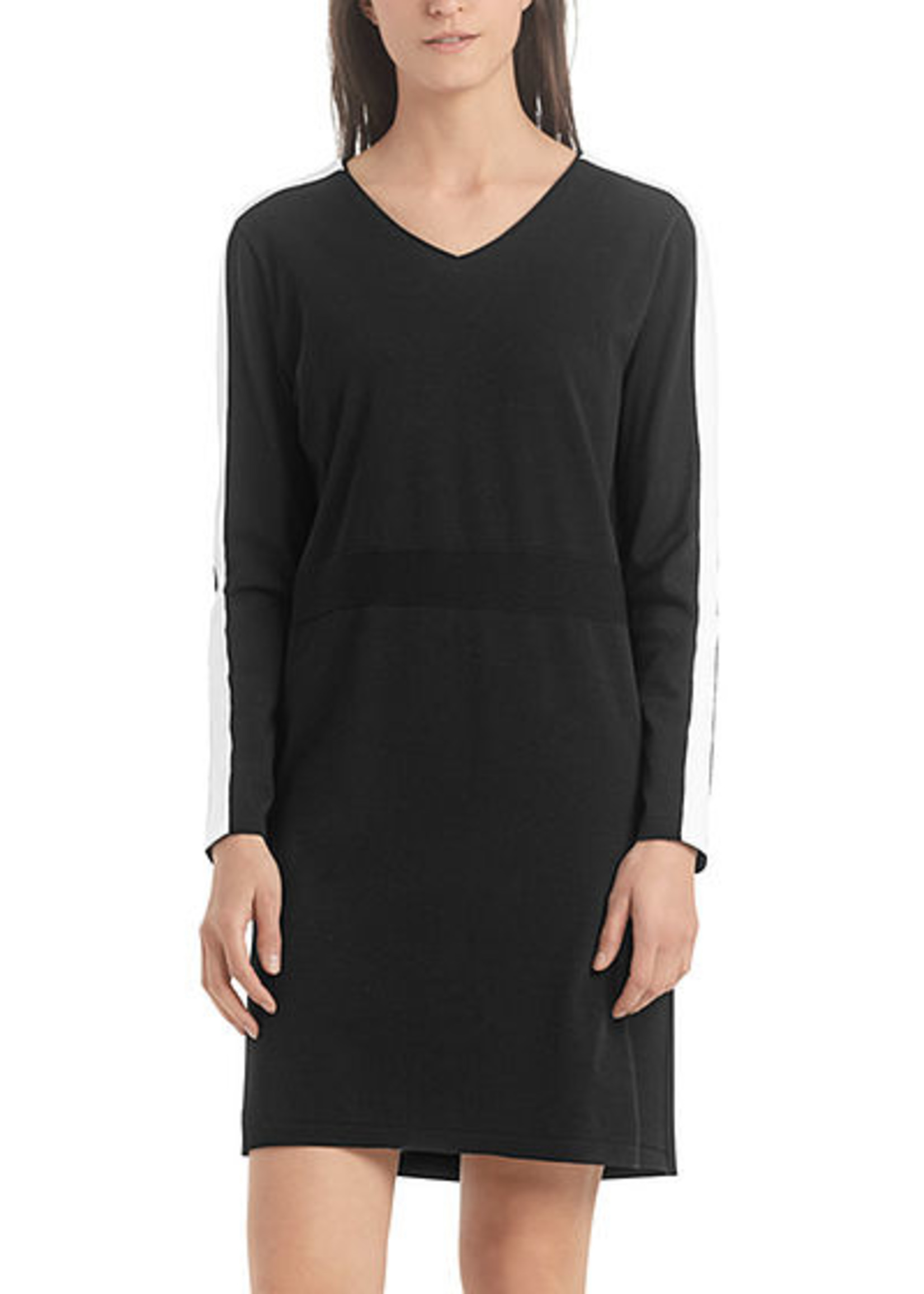 Marccain Sports Jurk RS 21.37 M34 black and white