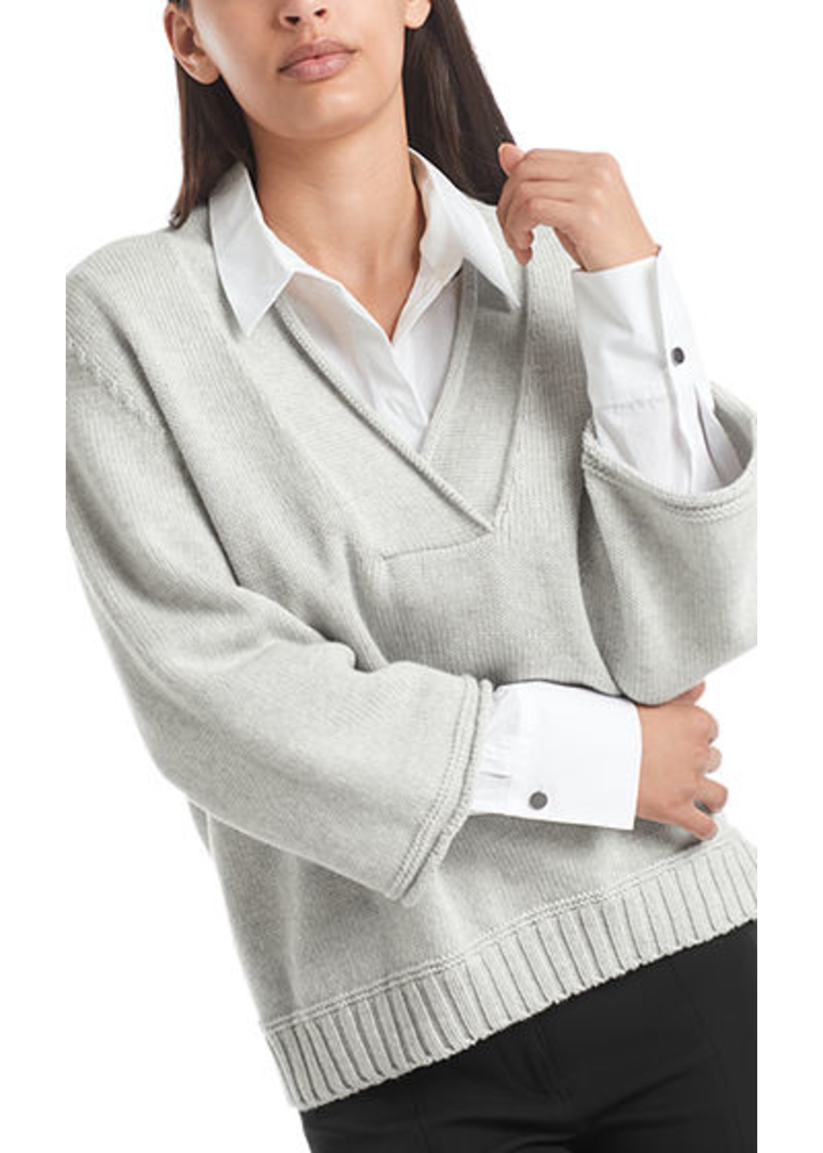 Sweater RC 41.60 M28 silver grey