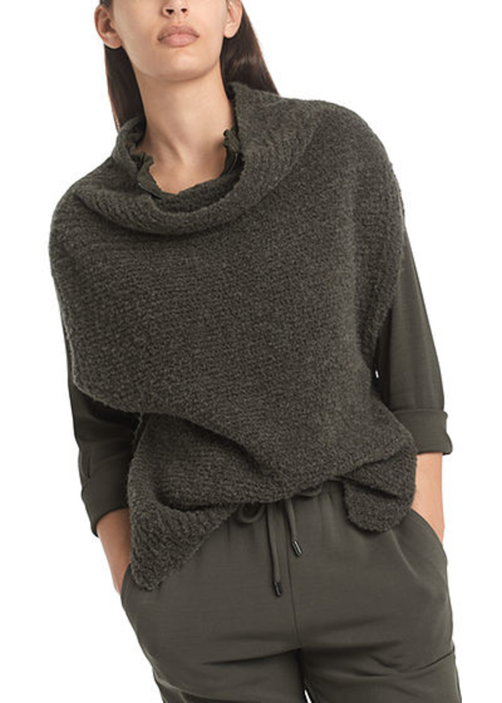 Marccain Sports Top RS 61.13 M23 olive drab