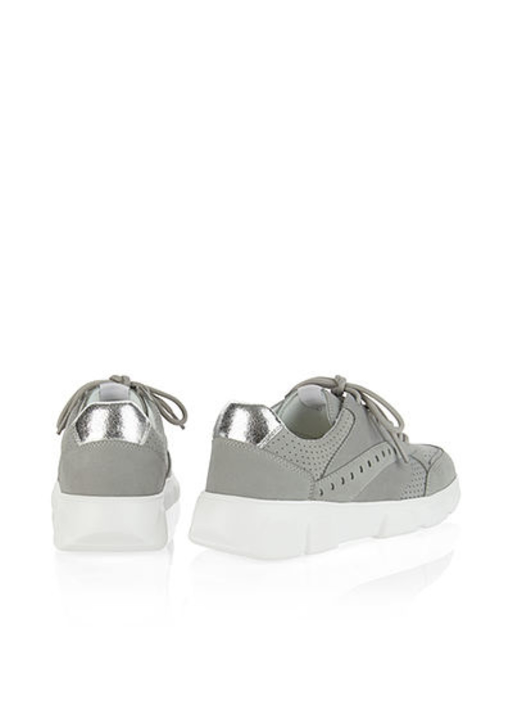 Marccain Bags & Shoes Sneaker RB SH.02 L20 silver grey