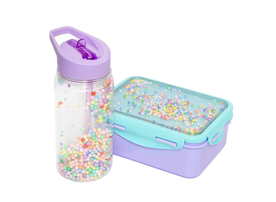 Drinkfles Pops Lilac