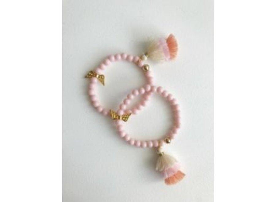 Armband Engel Roze