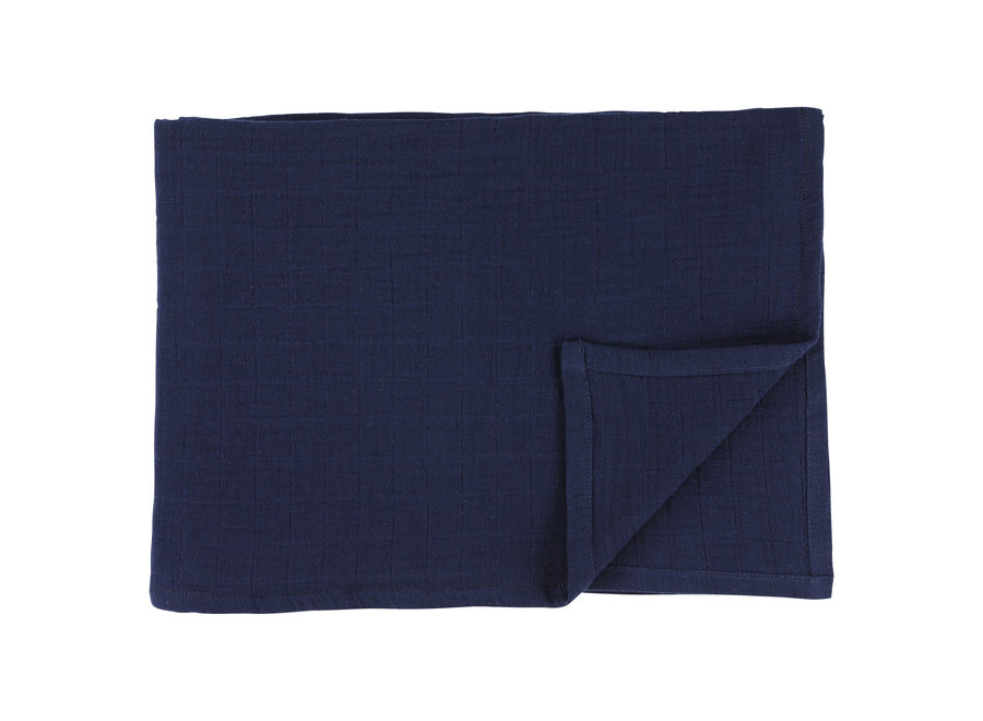 Hydrofiel doek 110x110 cm 2stuks - Bliss Blue