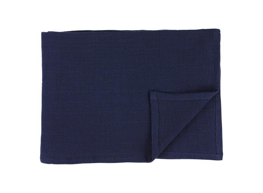 Hydrofiele doek 110x110cm 2stuks - Bliss Blue