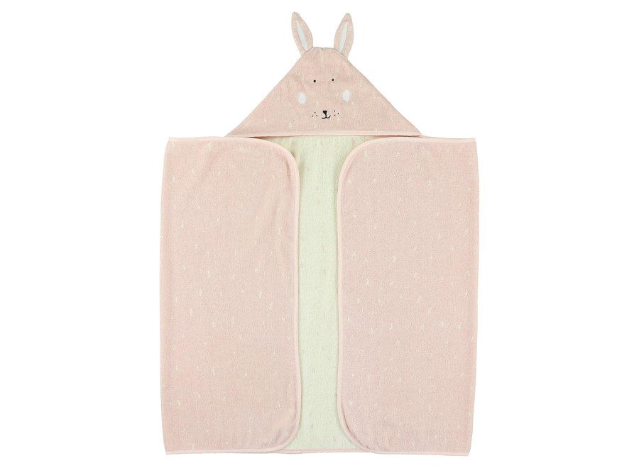 Badcape 75x75cm - Mrs. Rabbit