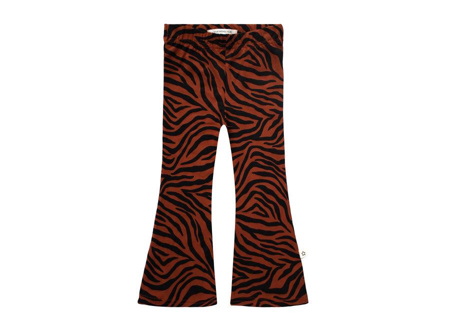 Flared Legging - Zebra