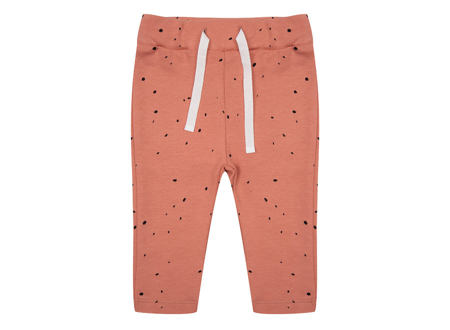 Legging Dots - Canyon Clay