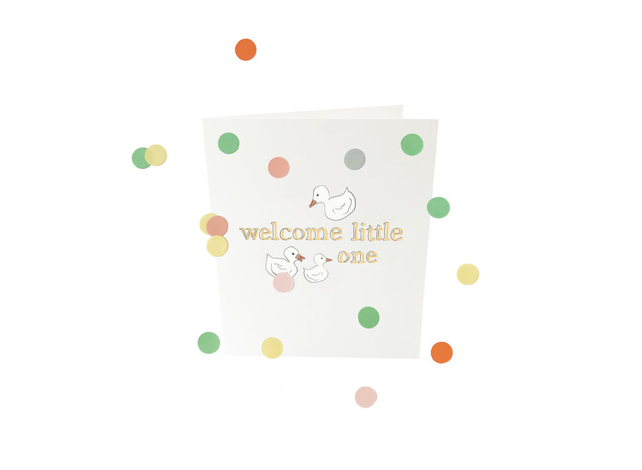 Confetti Baby -Welcome little one