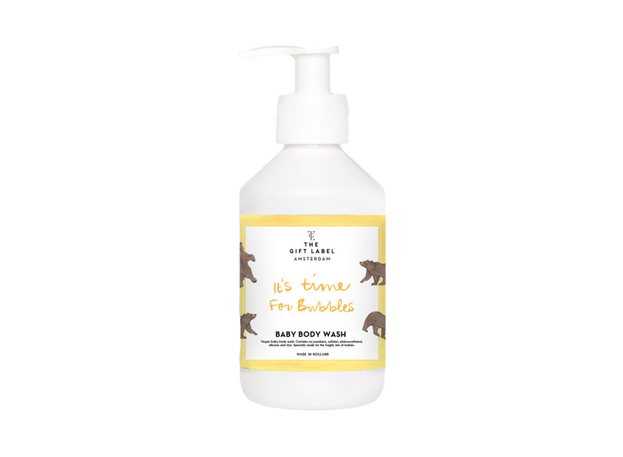 Baby Body Wash 250ml - It is time for bubbles