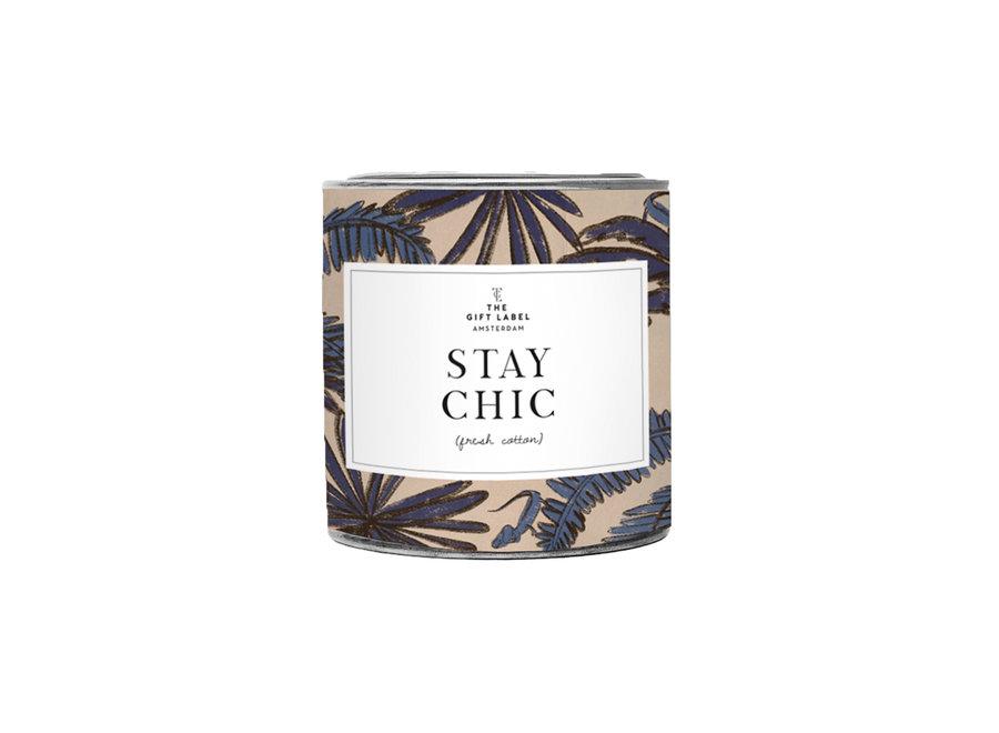 Geurkaars 310gr - Stay Chic | Jasmin Vanilla