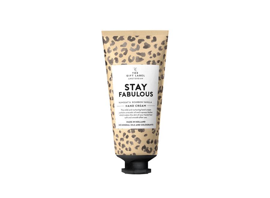 Hand Cream tube - Stay Fabulous
