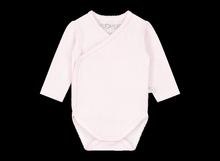 Romper Lange Mouw - Roze