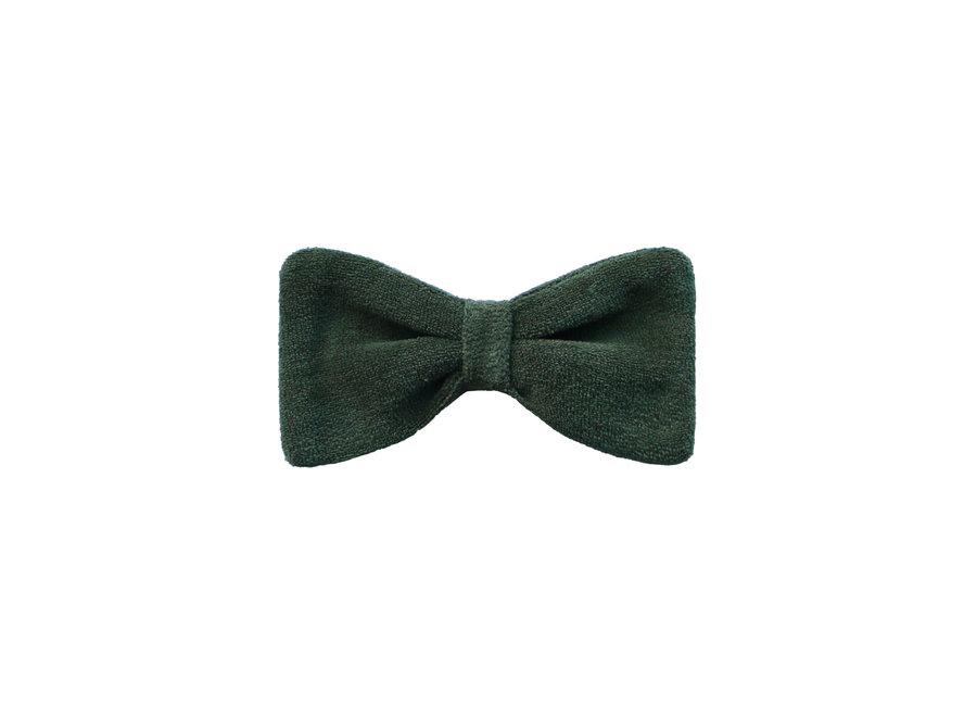 Bow Tie - Velvet Green