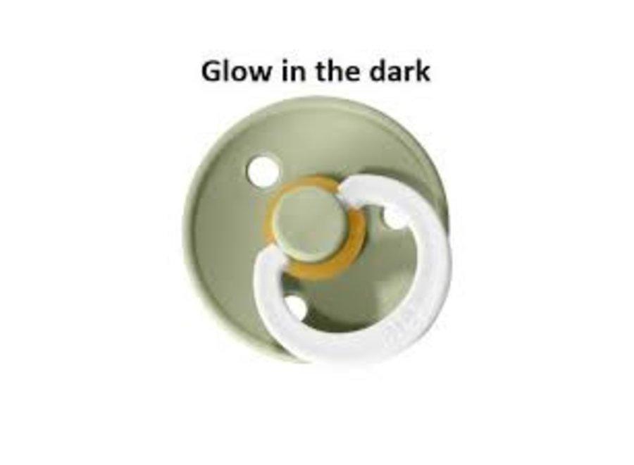 Speen maat 2 - Sage - Glow in the dark
