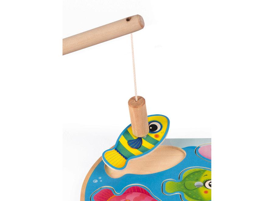Puzzelspel - Snelle Vissen (6st)