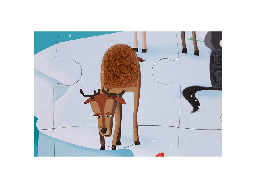 Voelpuzzel - Het leven op de ijsschots (20 st)