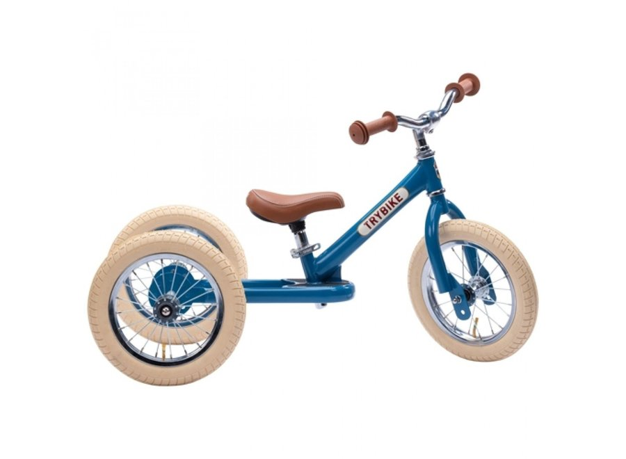 Steel Vintage Blue, 2 wheeler