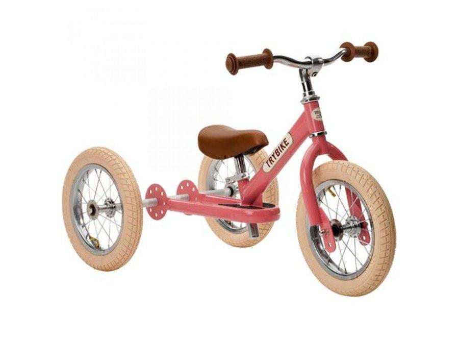 Steel Vintage Pink, 2 wheeler