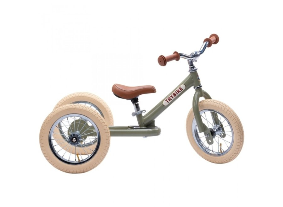 Steel Vintage Green, 2 wheeler