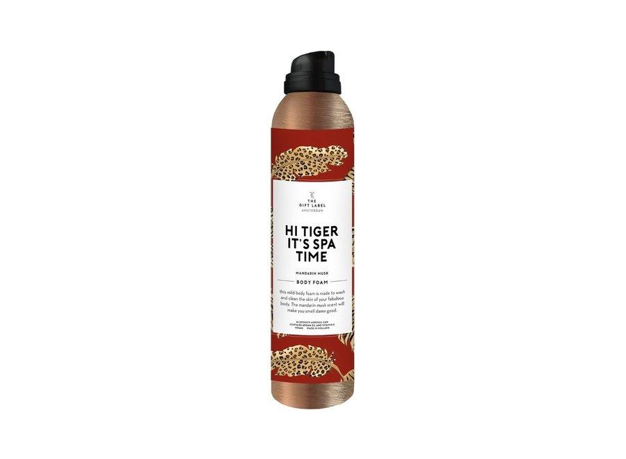 Body foam 200ml - Hi Tiger it's spa time