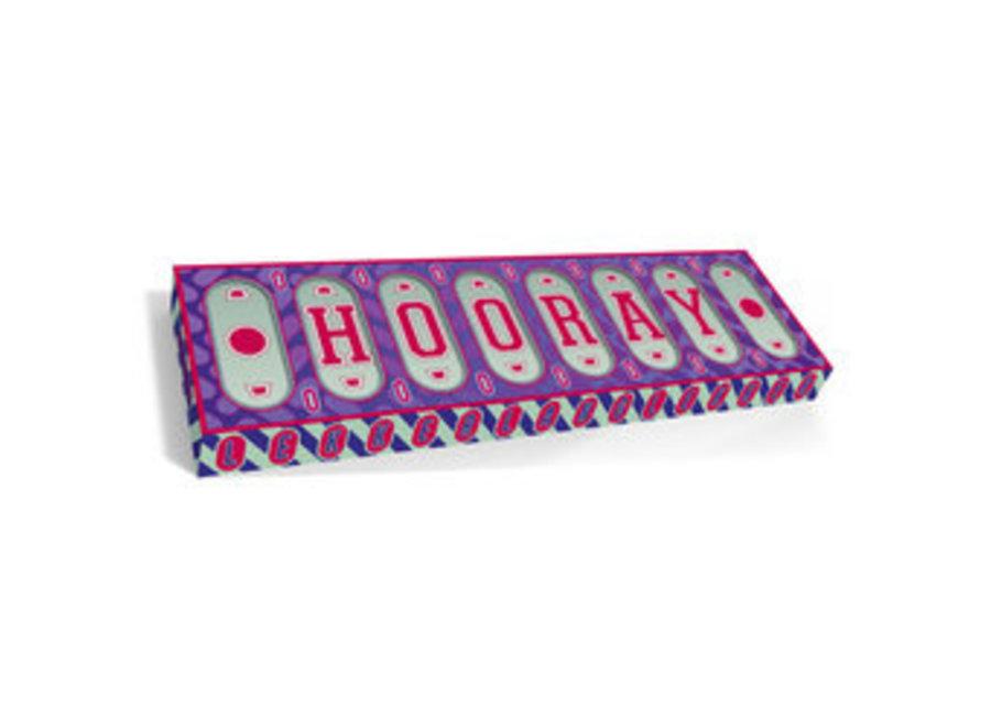 Hooray - Melkchocolade