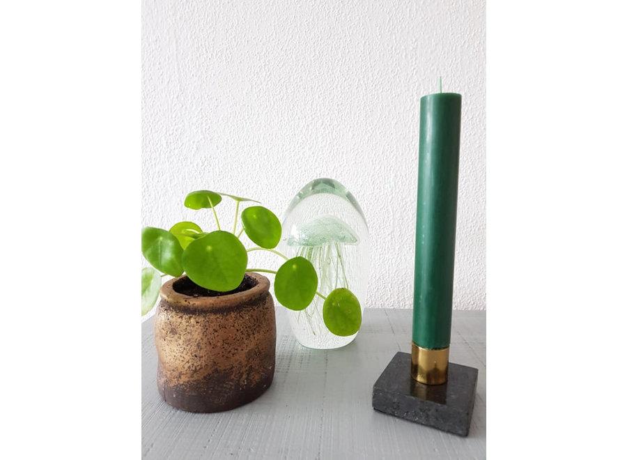 Kaars Jacht Groen 30cm