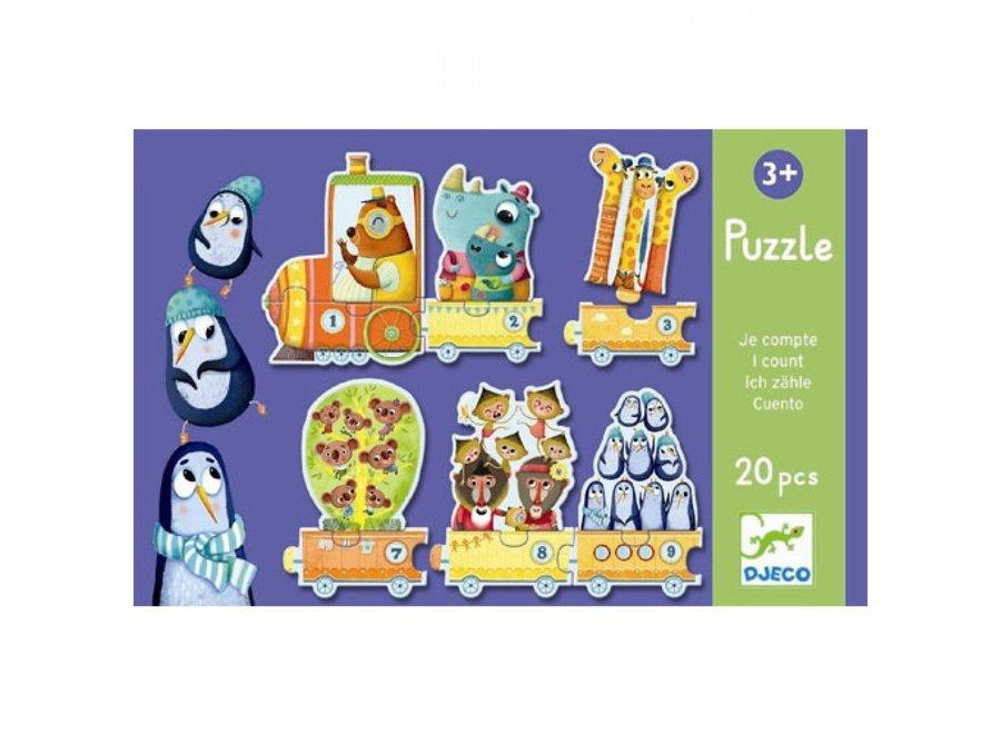 Puzzel - Telpuzzel dieren