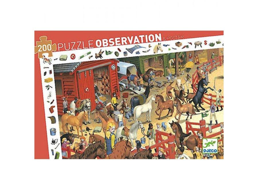 Puzzel - Paarden manege 200st
