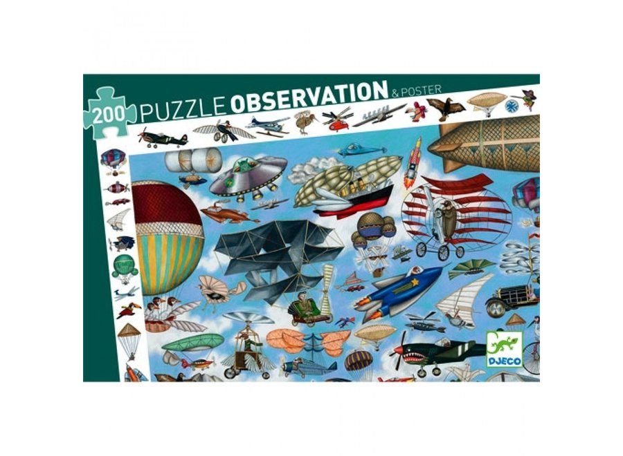 Puzzel - Luchtvaart 200st