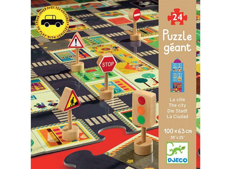 Puzzel - Verkeer 24 st