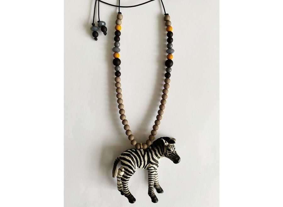 Dierenketting Stoer Zebra