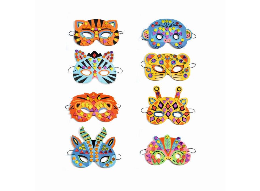 Knutselpakket - Masker Jungle