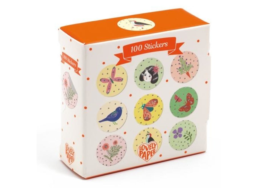 Stickers 100 st - Chichi