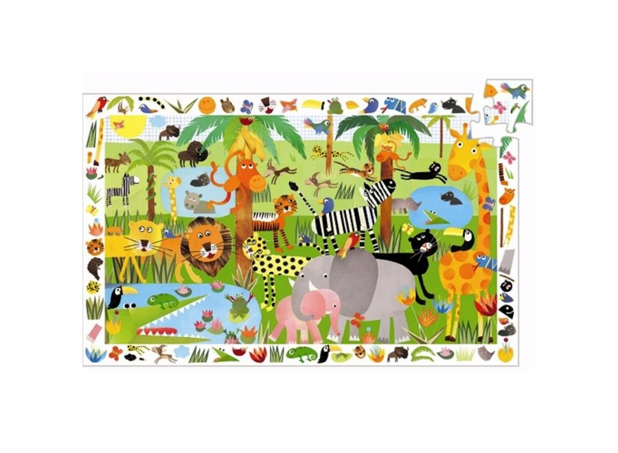 Puzzel - Jungle (36st)
