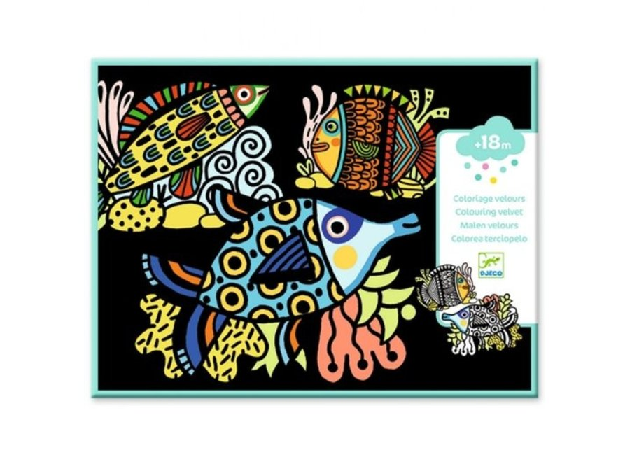 Kleuren - Velvet Vissen