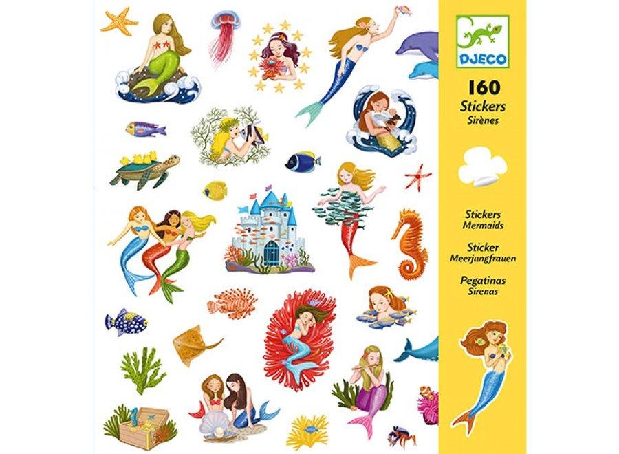 Stickers - Zee Meerminnen
