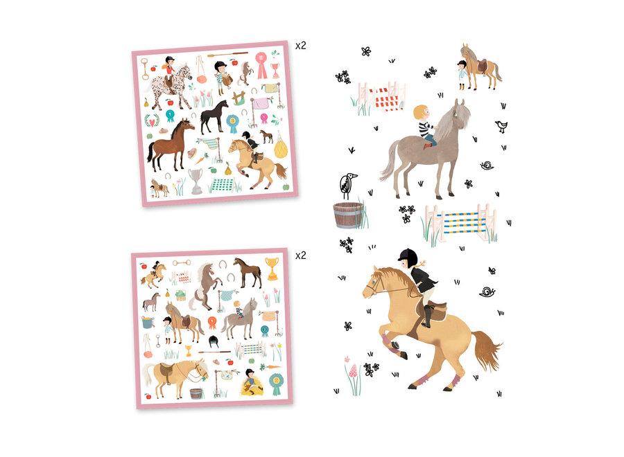 Stickers -  Paarden