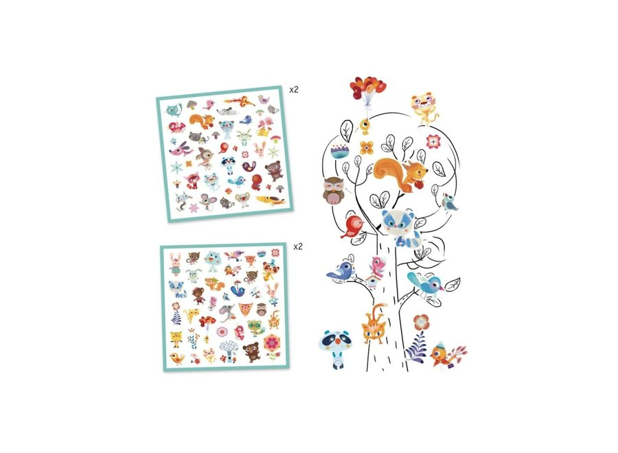 Stickers - Vriendjes