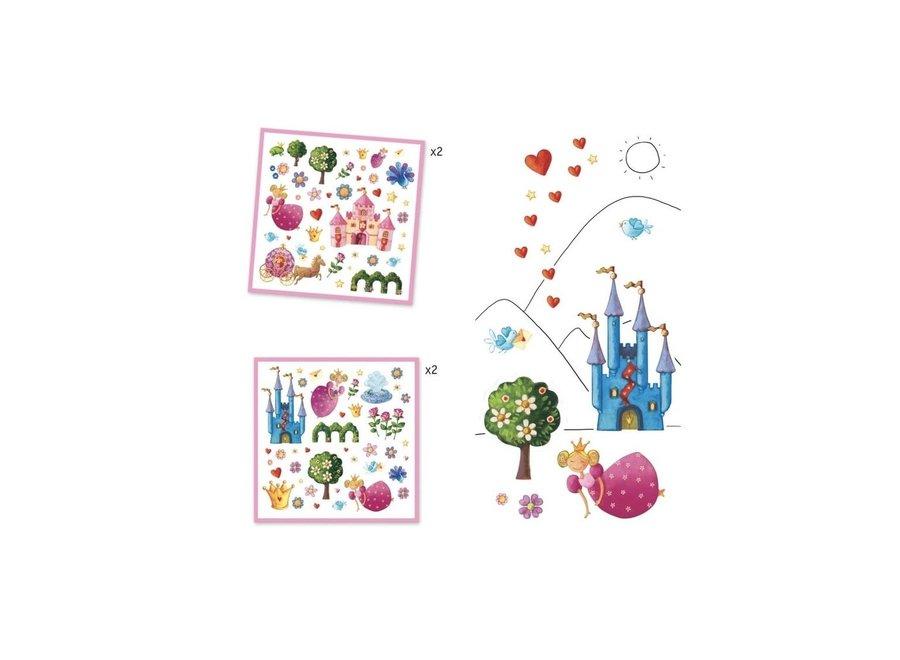 Stickers - Prinsessen