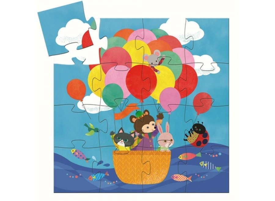 Puzzel - Luchtballon (16st)