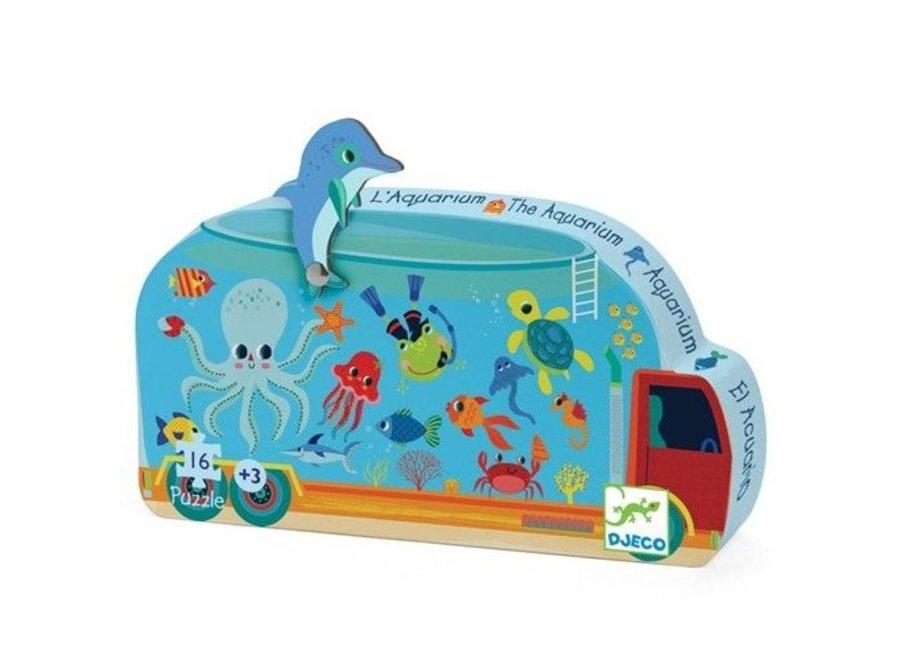 Puzzel - Het Aquarium (16st)