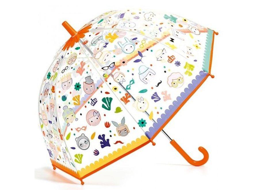 Paraplu - Gezichten