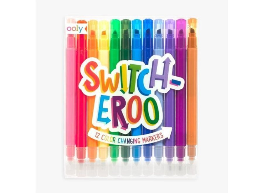 Switcheroo Color Changing Markers
