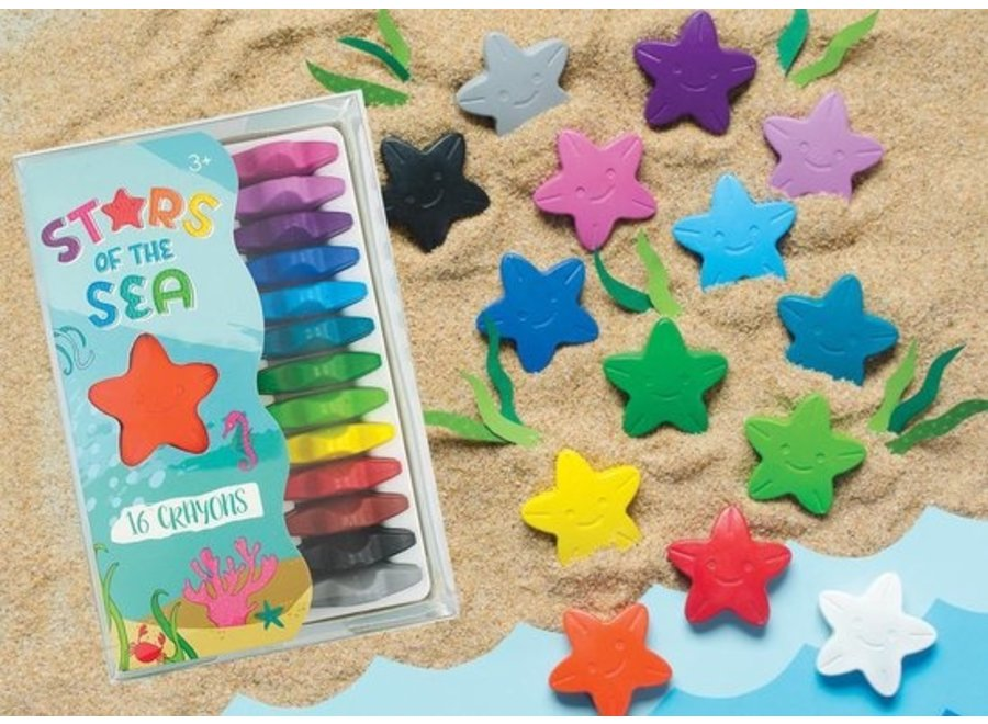 Krijtjes Stars of The Sea