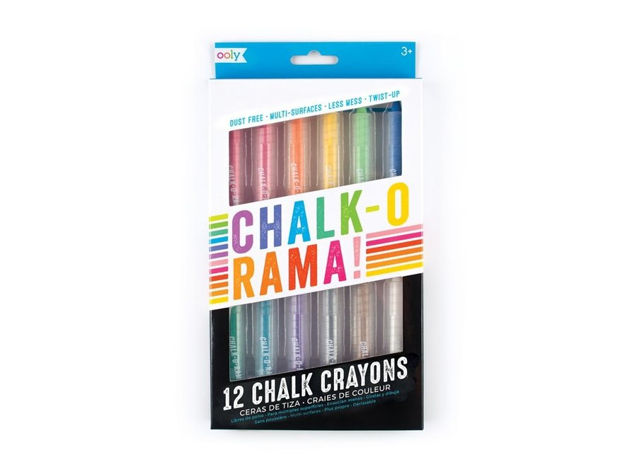 Stofvrijewaskrijtjes - Chalk-o-Rama
