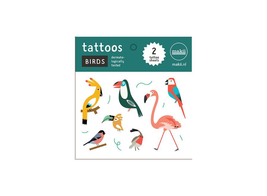 Tattoos - Vogels