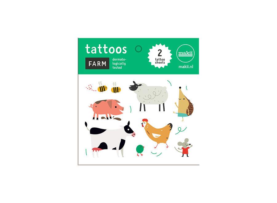 Tattoos - Boerderij